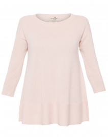 Saint Tropez Pale Pink Cashmere Swing Sweater