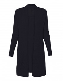 Sophie Navy Cable Knit Cashmere Cardigan