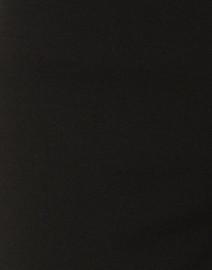 Fabrizio Gianni - Black Crepe Wide Leg Pull-On Ankle Pant