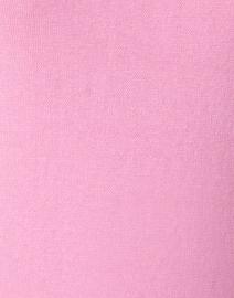 Blue - Rose Pink Pima Cotton Boatneck Sweater