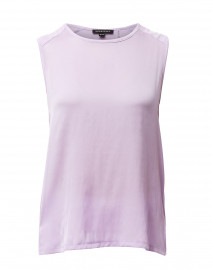 Lilac Top with Silk Front