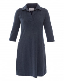 Blue Lake Henley Bamboo-Cotton Dress