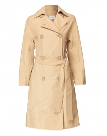 Tech Faille Trench Coat