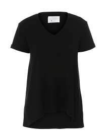 Wonder-V Black Bamboo-Cotton Top