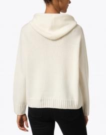 Fabiana Filippi - Ivory Wool and Silk Hooded Sweater
