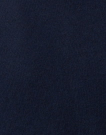 Cortland Park - Navy Cashmere Cardigan with Gold Buttons
