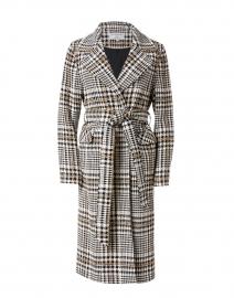 Ruth Multi Lurex Cotton Wool Check Coat