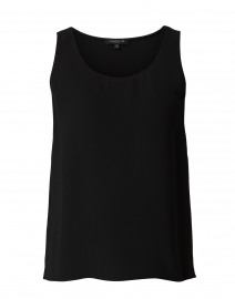 Finley Black Silk Top