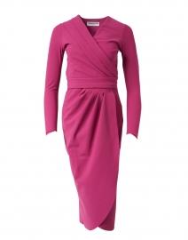 Jodene Beetroot Stretch Jersey Dress