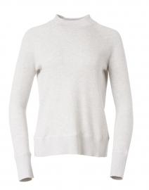 Cloud Grey Cotton Cashmere Sweater