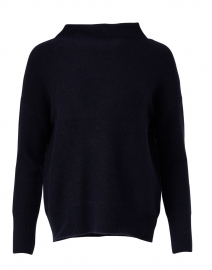 Navy Boiled Cashmere Sweater