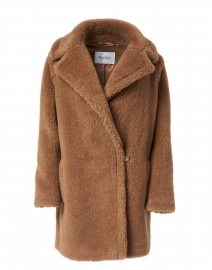 Orchis Brown Teddy Camel Coat