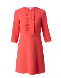 Rickie Coral Ruffled Dress