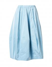 Nardy Light Blue Taffeta Skirt