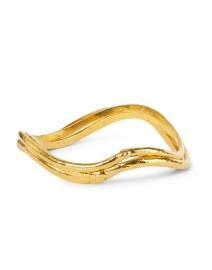 Flow Gold Set of Three Bangles