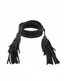 B-Low the Belt - Gatsby Black Leather Wrap Belt