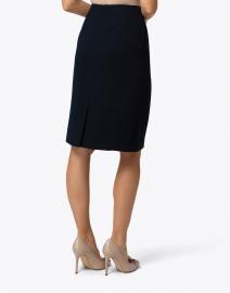 Lafayette 148 New York - Elin Navy Crepe Skirt