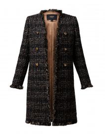 Black Lurex Tweed Jacket