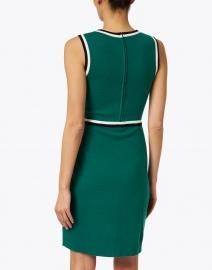 L.K. Bennett - Angie Green Knit Merino Cotton Dress