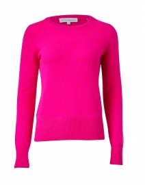 Radiant Pink Cashmere Sweater