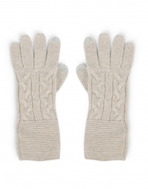 Agate Beige Cashmere Gloves