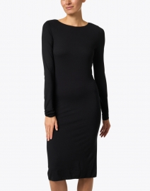 Majestic Filatures - Black Soft Touch Dress