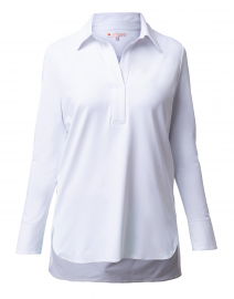 Hadley White Henley Top