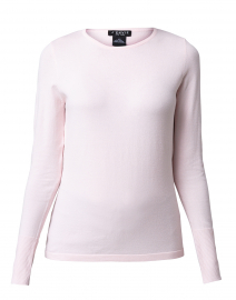 Pale Pink Top with Button Cuff Detail