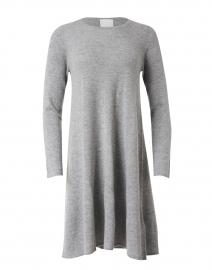 Light Grey Wool Cashmere Dress
