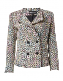 Multi Colored Tweed Jacket