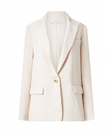 Magnolia Ivory Single Button Boyfriend Blazer