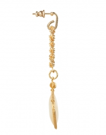Gas Bijoux - Siena Mother of Pearl Gold Drop Earrings