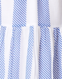 Oliphant - Blue Whistler Stripe Cotton Voile Dress