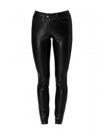 Ray Black Vegan Leather Pant
