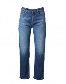 Angolo Blue Denim Straight Leg Jeans