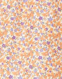 A.P.C. - Gina Orange Floral Printed Cotton Silk Shirt