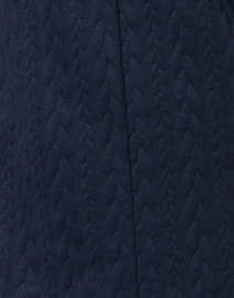 Sail to Sable - Navy Cable Knit Dress