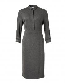 Dark Grey Wool Jersey Dress