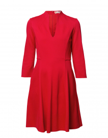 Kennedy Red Ponte Dress