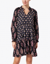 Roller Rabbit - Janni Black Madigan Floral Print Dress