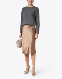 Chinti and Parker - Essential Grey Cashmere Sweater