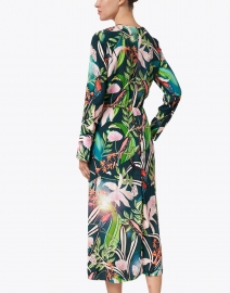 Marc Cain - Green and Multi Floral Print Dress