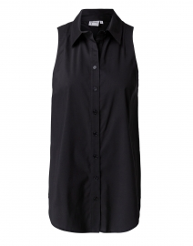 Shelly Black Cotton Top