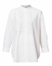 Vettura White Cotton Shirt