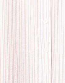 Finley - Swing White Multi Stripe Shirt Dress
