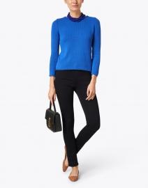 Leggiadro - Cobalt Blue Cotton Pullover