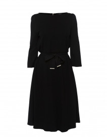 Parma Black Jersey Dress