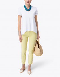 Southcott - Wonder-V White Bamboo Cotton Top