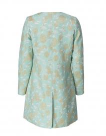 Helene Berman - Alice Mint Green Lurex Floral Jacquard Jacket