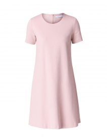 Rose Pink Cotton Canvas Dress